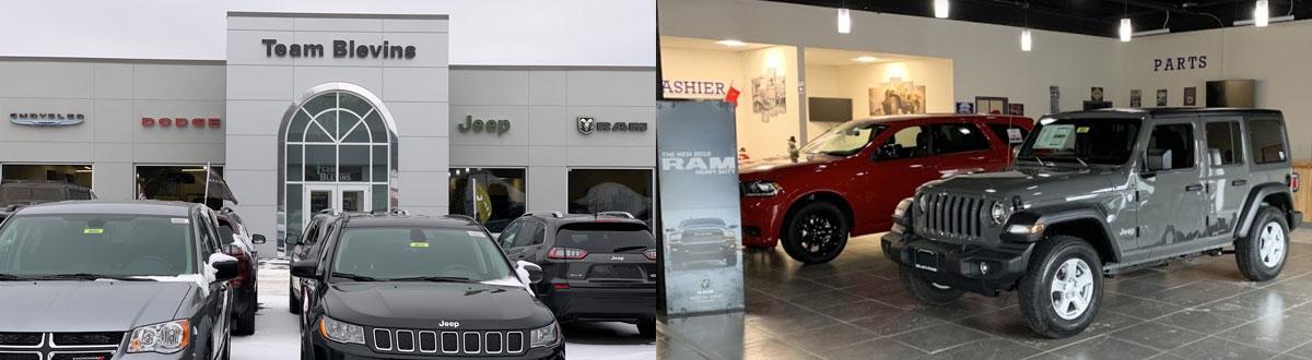 Team Blevins Chrysler Dodge Jeep RAM